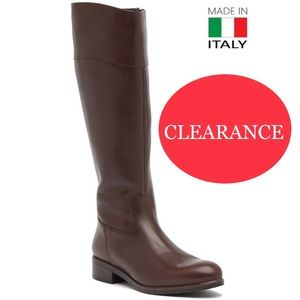 Italian Shoemakers Women's Brown Leather Boot
